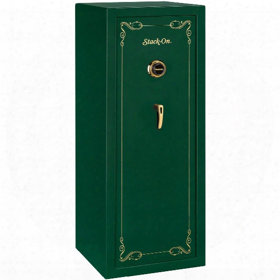 16-gun Security Safe With Combination Lock From Stack-on