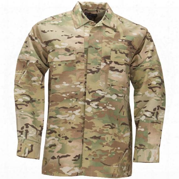 5.11 Tactical Multicam Long - Sleeved Ripstop Tdu Shirt