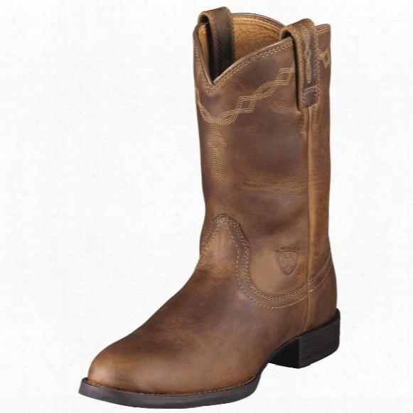 "Ariat Women's Heritage 9"" Roper Western Boots"