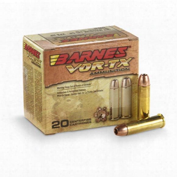 Barnes Vor-tx, .357 Magnum, Xpb Hp, 140 Grain, 25 Rounds