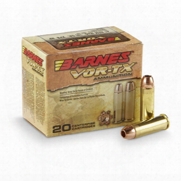 Barnes Vor-tx, .41 Remington Magnum, Xpb,180 Grain, 20 Rounds