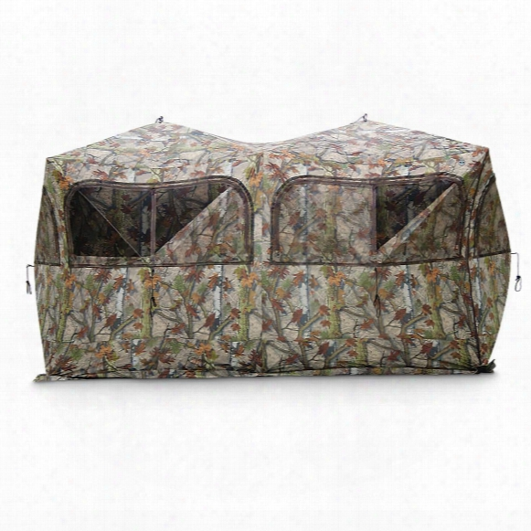 Barronett Beast Side-by-side Hub Ground Blind, Blood Trail Camo