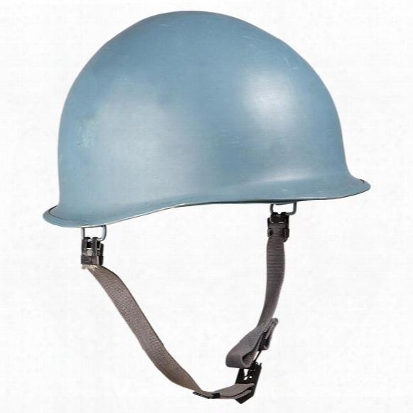 Belgian Military Surplus Un Helmet With Liner, New