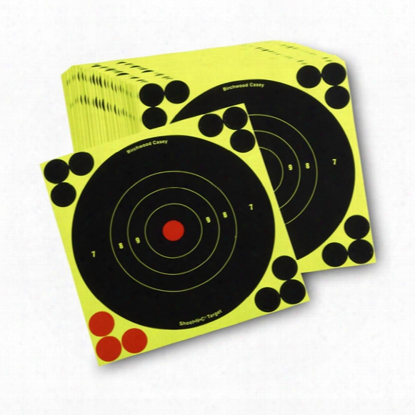 "Birchwood Casey Reactive 6"" Paper Shooting Targets, 100 Pack"