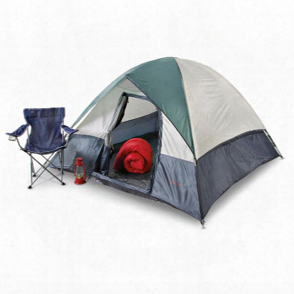 Columbus Sunridge Dome Tent, 8' X 8'