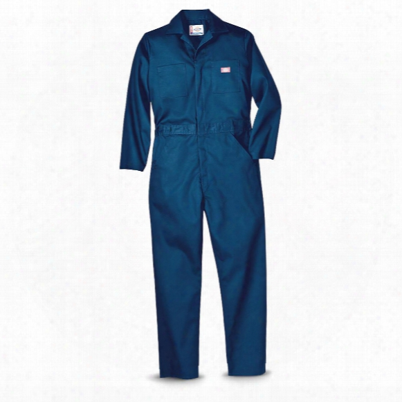 Dickies® Basic Twill Long-sleeved Coveralls, Dark Navy