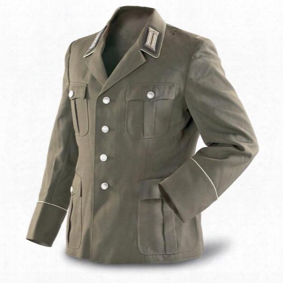 East German Military Surplus Officer's Dress Jacket, New