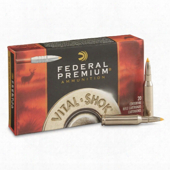 Federal, 7mm-08 Remington Magnum, Trophy Bonded Tip, 140 Grain, 20 Rounds