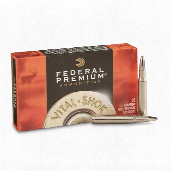 Federal Premium Vital-shok Trophy Bonded Bear Claw, .30-06 Springfield, 200 Grain, 20 Rounds