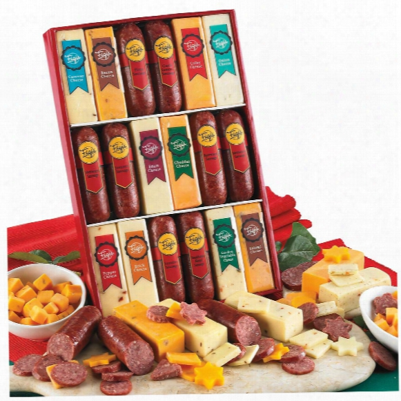 Figi's Savory Snackin' Meats And Cheeses Collection