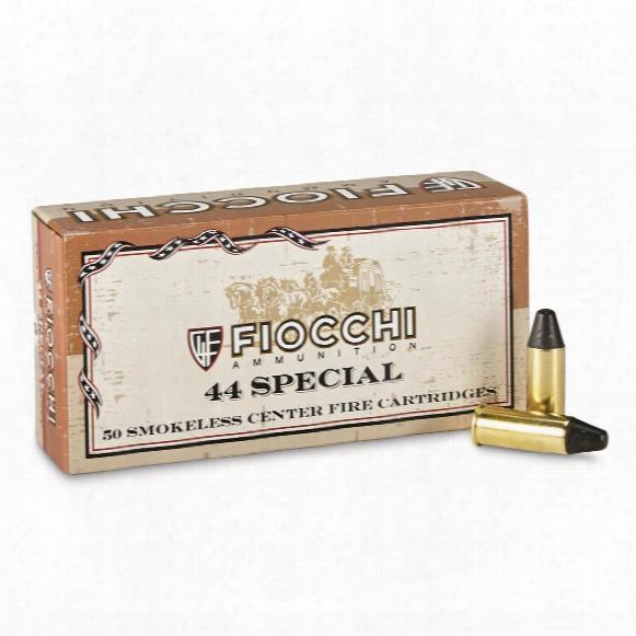 Fiocchi, .44 Special, Lfp, Cowboy Loads, 210 Grain, 50 Rounds