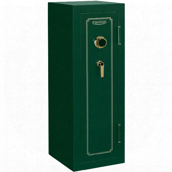 Fire Resistant 14-gun Safe With Combination Lock From Stack-on