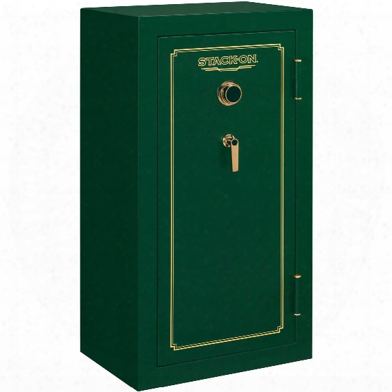 Fire Resistant 24-gun Safe With Combination Lock From Stack-on