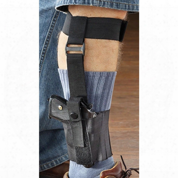 Fox Tactical Nylon Ankle Holster, Small-frame Pistols, Ambidextrous