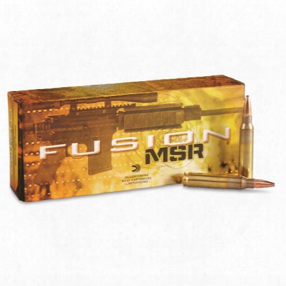Fusion Personal Defense .223 Rem 62 Grain Hst Ammo, 20 Rds.