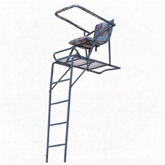 Guide Gear 17' Extreme Comfort Ladder Tree Stand