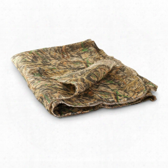 "Guide Gear Camo Burlap Fabric, 4'6"" X 12'"