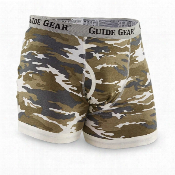 Guide Gear Men's Camo Boxer Briefs, 6-pack