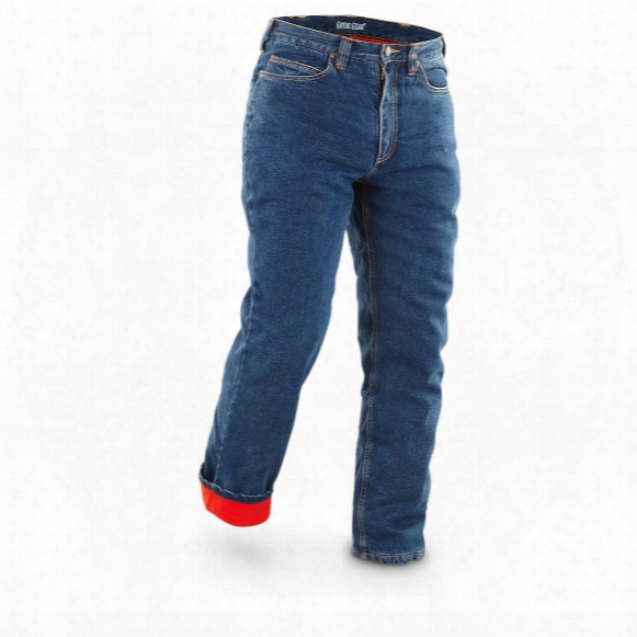 Guide Gear Men's Insulated Stone Washed Jeans, 100 Grams