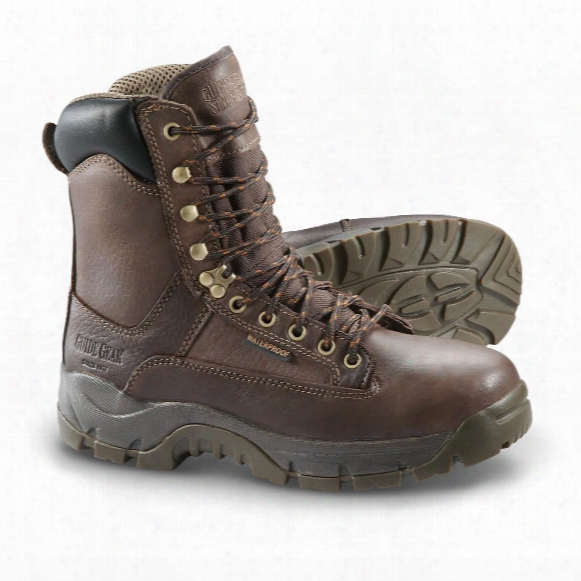 "Guide Gear Men's 8"" Soft Toe Leather Hammer Boots"
