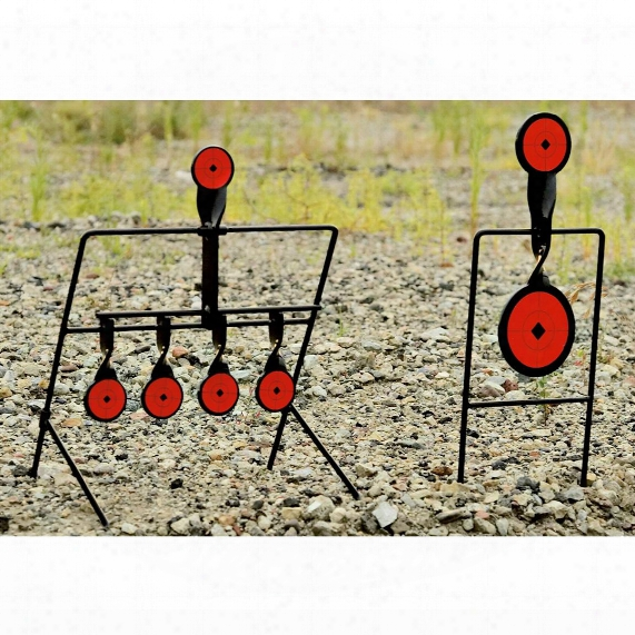 Guide-book Gear Steel Auto Reset And Spinner Shooting Targets