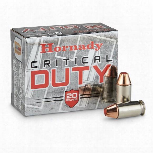 Hornady, Critical Duty, .45 Auto +p, Flexlock, 220 Grain, 20 Rounds