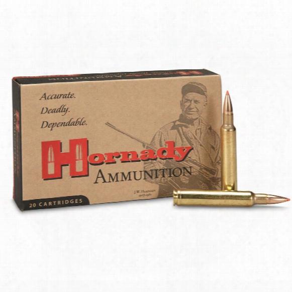 Hornady Custom, .300 Weatherby Magnum, Gmx, 165 Grain, Lead-free, 20 Round