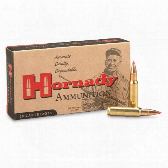Hornady Custom, 6.8mm Spc, Sst, 120 Grain, 20 Rounds