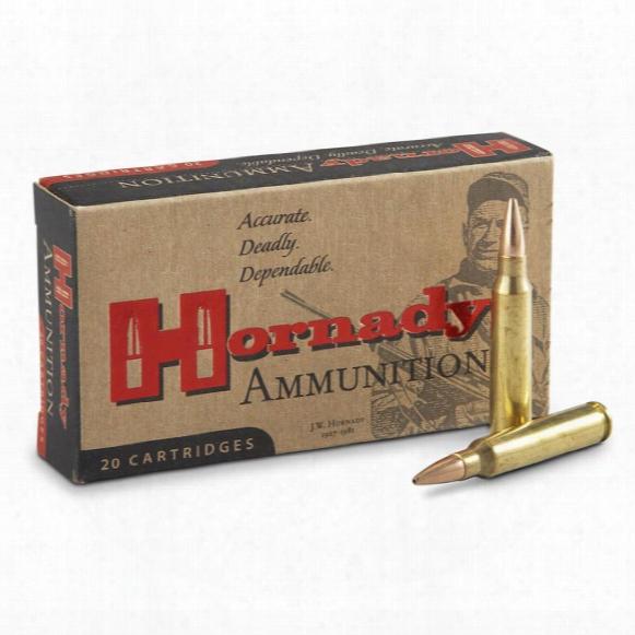 Hornady Match Ammunition, .223 Remington, Bthp, 68 Grain, 20 Rounds