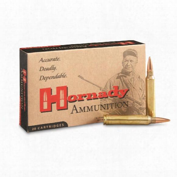 Hornady Rifle, .300 Win Mag, Bthp Match, 195 Grain, 20 Rounds