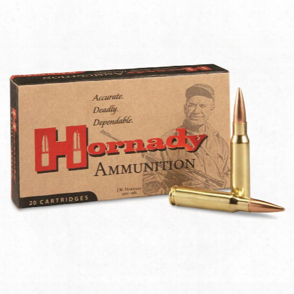 Hornady Rifle, .308 Win., Bthp Match, 178 Grain, 20 Rounds