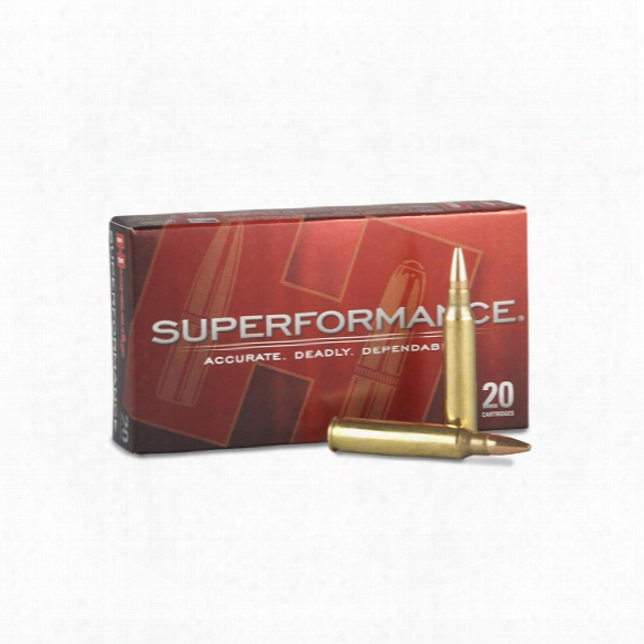 Hornady Superformance, .223 Remington, Gmx, 55 Grain, Lead-free, 20 Rounds