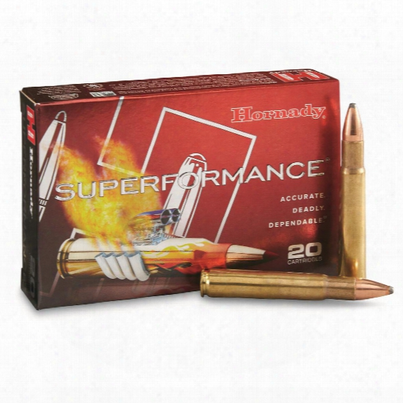 Hornady Superformance, .35 Whelen, Sp, 200 Grain, 20 Rounds