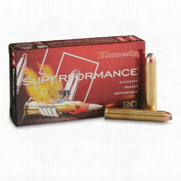 Hornady Superformance, .444 Marlin, Fp Spf, 265 Grain, 20 Rounds