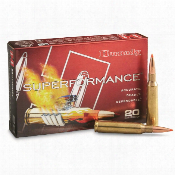 Hornady Superformance, 6.55x55 Swedish Mauser, Sst Spf, 140 Grain, 20 Rounds