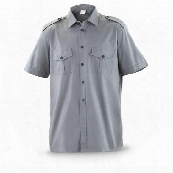 Italian Military Surplus Service Shirts, 3 Pack, Used