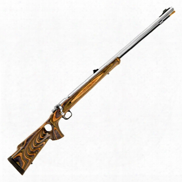 Knight® Mountaineer® Muzzleloader Rifle, Thumbholewood Stock, Forest Green