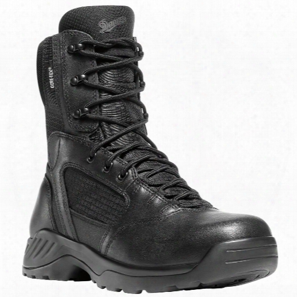 "Men's 8"" Danner® Kinetic Side-zip Gttx® Uniform Boots, Black"