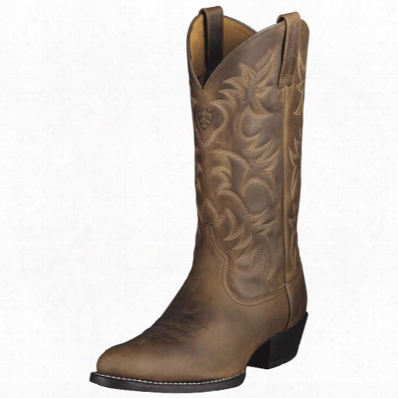 "Men's Ariat® 13"" Heritage Western R-toe Cowboy Boots"