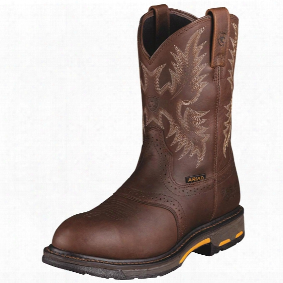 Men's Ariat® Workhog H2o Composite Toe Waterproof Cowboy Boots