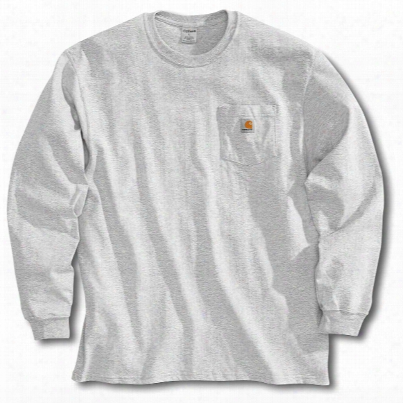 Men's Carhartt Workwear Long-sleeve Pocket T-shirt