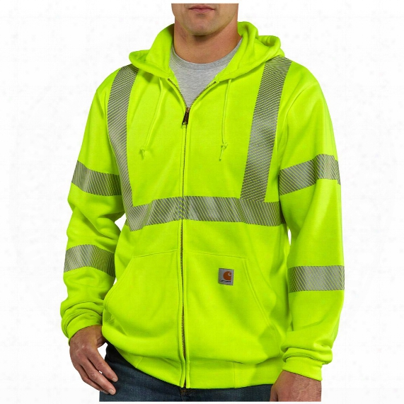 Men's Carhartt® Class 3 High-visibility Hooded Sweatshirt