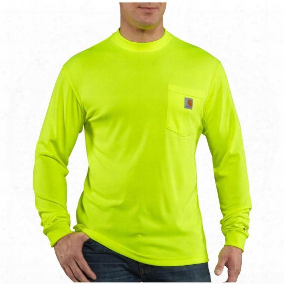 Men's Carhartt® Force High-visibility Long-sleeve T-shirt