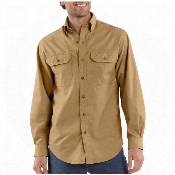 Men's Carhartt® Long-sleeve Chambray Work Shirt