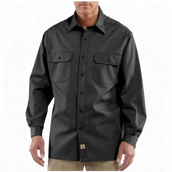 Men's Carhartt® Long - Sleeve Twill Work Shirt