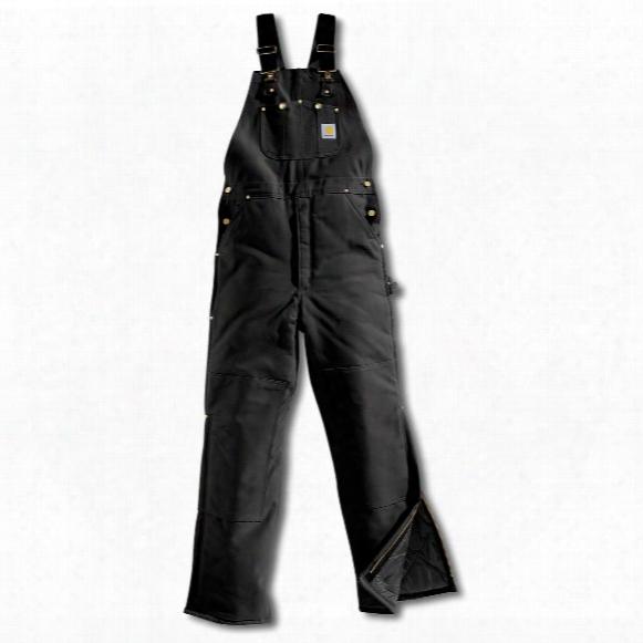 Men's Carhartt® Quilt-lined Duck Bib Overalls