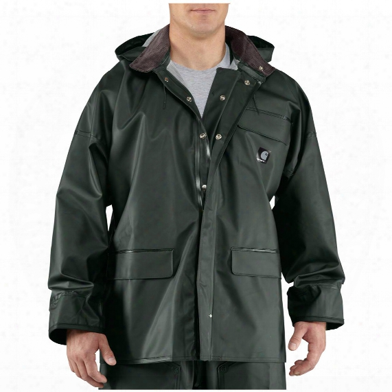 Men's Carhartt® Surrey Waterproof Hooded Rain Coat