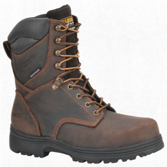 "Men's Carolina® 8"" Svb Waterproof 400 - Gram Thinsulate Insulation Steel Toe Work Boots, Gaucho"