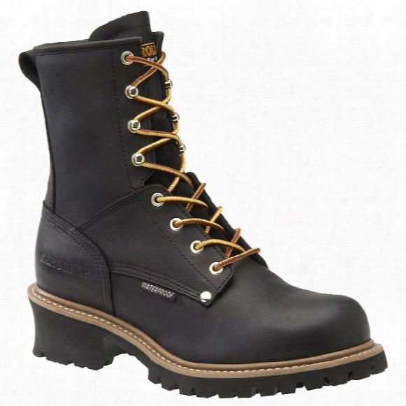 Men's Carolina® Steel Toe Waterproof Logger Boots