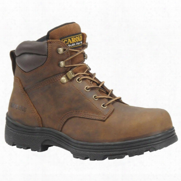 "Men's Carolina® Svb 6"" Steel Toe Waterproof Work Boots, Brown"